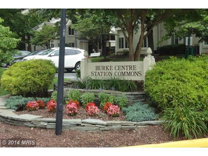 10320 LURIA COMMONS CT #3G Burke, VA MLS# FX8124073