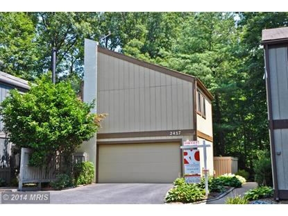 2417 GLADE BANK WAY Reston, VA MLS# FX8280892