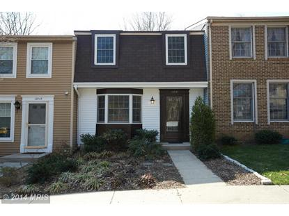 10947 HARPERS SQUARE CT Reston, VA MLS# FX8316220