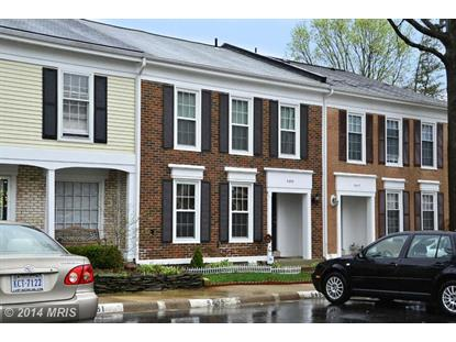 5459 SAFE HARBOR CT Fairfax, VA MLS# FX8320479
