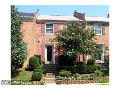 9956 WOOD WREN CT Fairfax, VA MLS# FX8349854