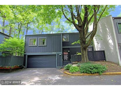 2423 GLADE BANK WAY Reston, VA MLS# FX8360648
