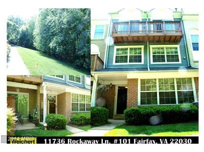 11736 ROCKAWAY LN #101 Fairfax, VA MLS# FX8368635