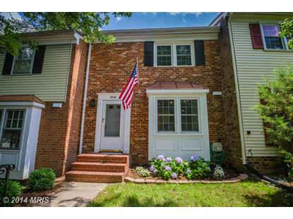 9658 THACKERY SQ Fairfax, VA MLS# FX8390748