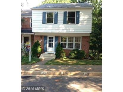 5500 BEACONSFIELD CT Burke, VA MLS# FX8401164