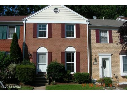 9511 CHERRY OAK CT Burke, VA MLS# FX8404476