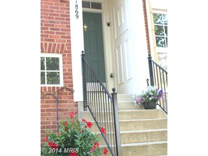 1869 CRESCENT PARK DR #115B Reston, VA MLS# FX8409707