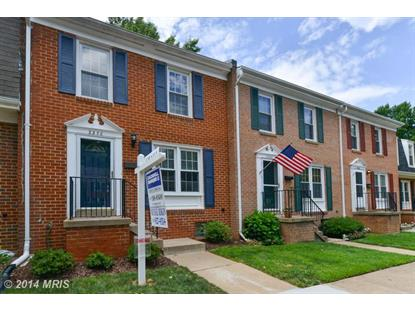 2356 HORSEFERRY CT Reston, VA MLS# FX8416376