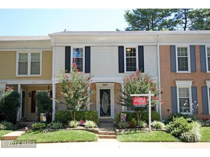 5471 SAFE HARBOR CT Fairfax, VA MLS# FX8442426