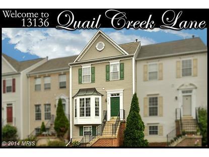 13136 QUAIL CREEK LN Fairfax, VA MLS# FX8452724