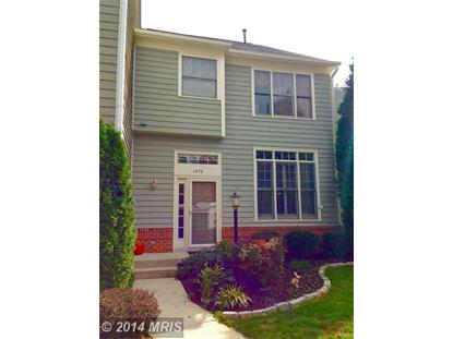 1273 WEATHERSTONE CT Reston, VA MLS# FX8473055