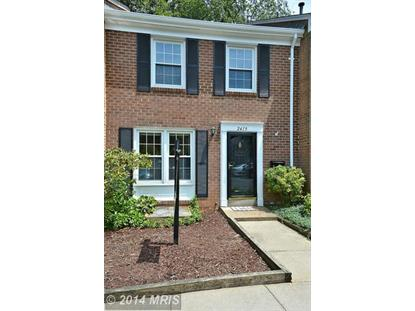 2419 ALSOP CT Reston, VA MLS# FX8478237