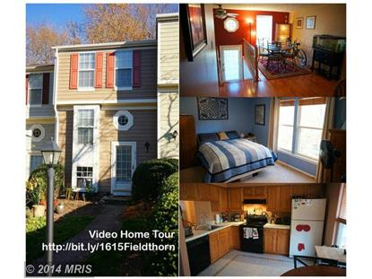 1615 FIELDTHORN DR Reston, VA MLS# FX8502693