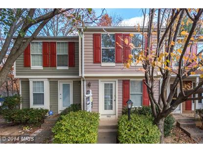 1903 BELMONT RIDGE CT Reston, VA MLS# FX8506548