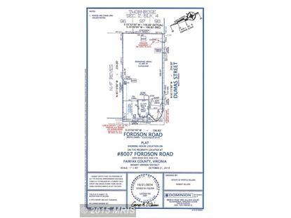 8007 FORDSON RD Alexandria, VA MLS# FX8507054
