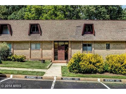 11600 VANTAGE HILL RD #22C Reston, VA MLS# FX8520452