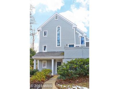 1401 CHURCH HILL PL #1401 Reston, VA MLS# FX8540054