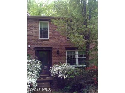 2335 MIDDLE CREEK LN Reston, VA MLS# FX8547402