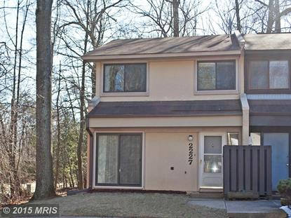 2227 CARTWRIGHT PL Reston, VA MLS# FX8548131