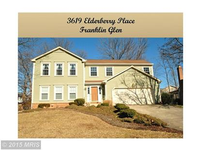 3619 ELDERBERRY PL Fairfax, VA MLS# FX8554497