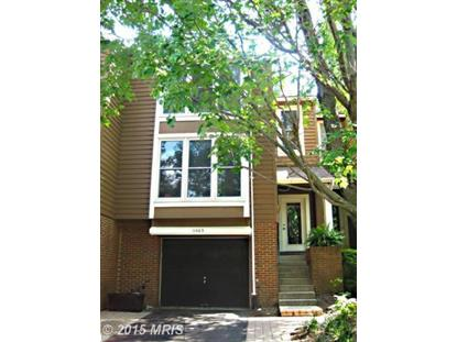 11403 ORCHARD GREEN CT Reston, VA MLS# FX8582134