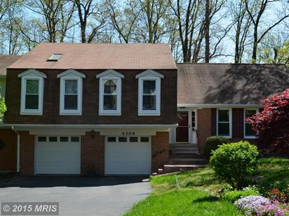 4304 BIRCH POND LN Fairfax, VA MLS# FX8586957