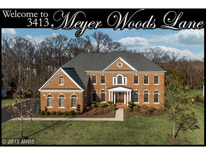 3413 MEYER WOODS LN Fairfax, VA MLS# FX8587763