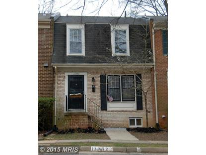 11865 ABERCORN CT Reston, VA MLS# FX8599532