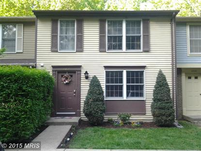 2339 MIDDLE CREEK LN Reston, VA MLS# FX8636108