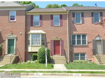 10442 MALONE CT Fairfax, VA MLS# FX8638908