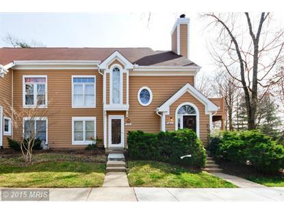 1491 CHURCH HILL PL #1491 Reston, VA MLS# FX8639980