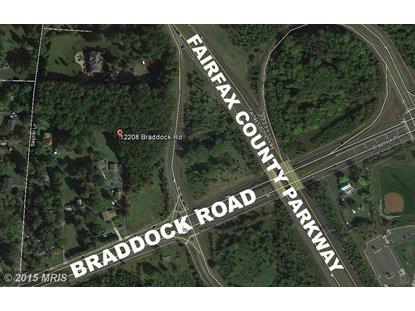 12208 BRADDOCK RD Fairfax, VA MLS# FX8646152