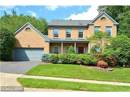 8758 COPELAND POND CT Fairfax, VA MLS# FX8649342