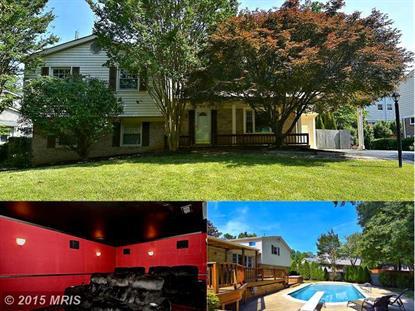 9908 BARNSBURY CT Fairfax, VA MLS# FX8663182