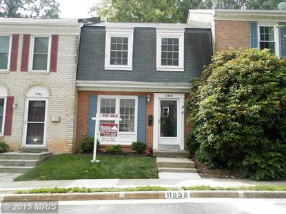11958 HEATHCOTE CT Reston, VA MLS# FX8664323