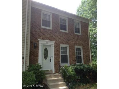 6100 HERON POND CT Burke, VA MLS# FX8670925