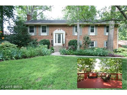 9610 CERALENE CT Fairfax, VA MLS# FX8674332