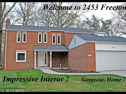 2453 FREETOWN DR Reston, VA MLS# FX8677630