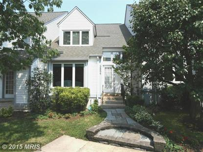 3854 ALDER WOODS CT Fairfax, VA MLS# FX8682459