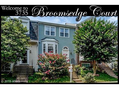 3735 BROOMSEDGE CT Fairfax, VA MLS# FX8694601