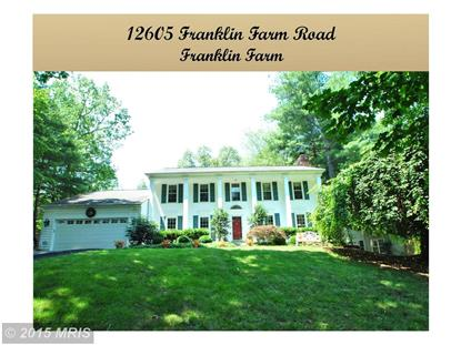 12605 FRANKLIN FARM RD Herndon, VA MLS# FX8696918