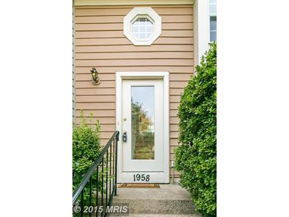 1958 BELMONT RIDGE CT Reston, VA MLS# FX8739100