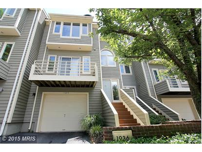1936 LAKEPORT WAY Reston, VA MLS# FX8743959