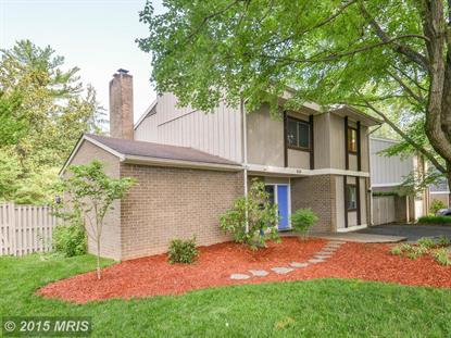 1630 GREENBRIAR CT Reston, VA MLS# FX9520842