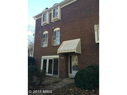 3766 PERSIMMON CIR #144 Fairfax, VA MLS# FX9520875