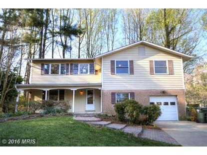 5120 THACKERY CT Fairfax, VA MLS# FX9619776