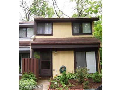 2299 WHITE CORNUS LN Reston, VA MLS# FX9645391