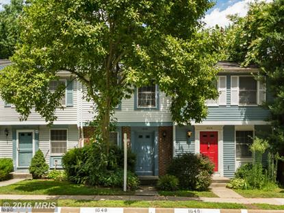 1646 HARVEST GREEN CT Reston, VA MLS# FX9737048