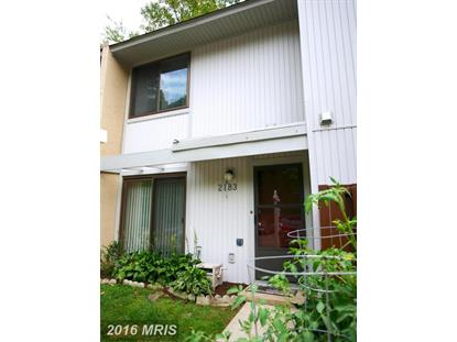 2183 WHITE CORNUS LN Reston, VA MLS# FX9759080