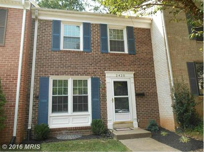 2420 ANSDEL CT Reston, VA MLS# FX9766165